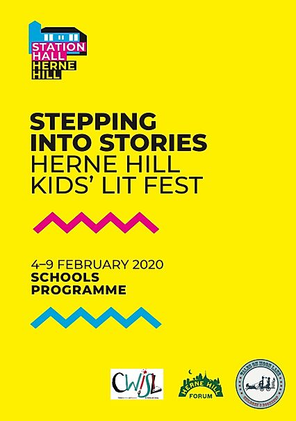 Stepping Into Stories Kids' Lit Fest in Herne Hill