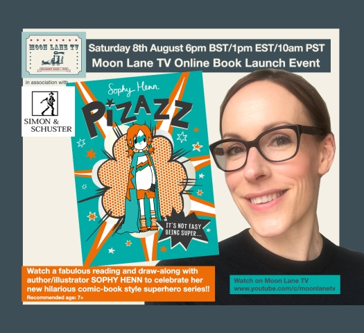 Moon Lane TV: Sophy Henn and her new book 'Pizazz'