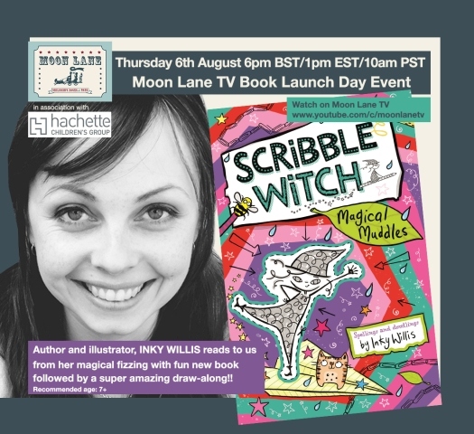 Moon Lane TV: Inky Willis and her new book Scribble Witch Magical Muddles